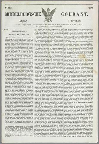 Middelburgsche Courant 1872-11-01