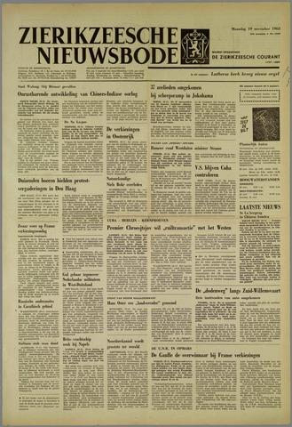 Zierikzeesche Nieuwsbode 1962-11-19