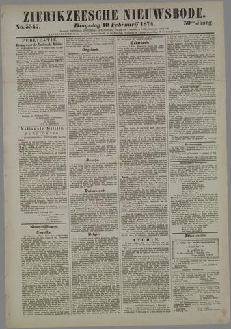 Zierikzeesche Nieuwsbode 1874-02-10