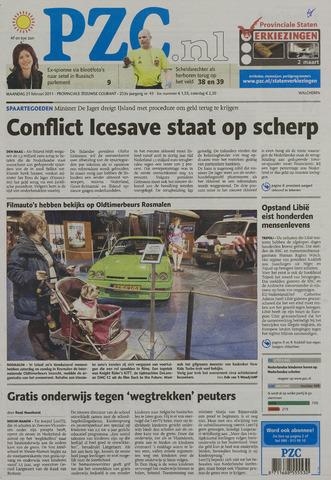 Provinciale Zeeuwse Courant 2011-02-21