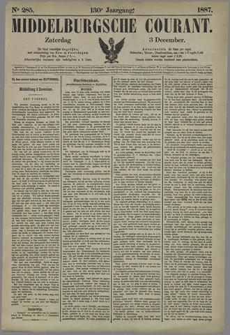 Middelburgsche Courant 1887-12-03