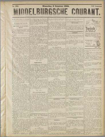 Middelburgsche Courant 1922-10-02
