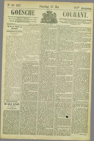 Goessche Courant 1917-05-22
