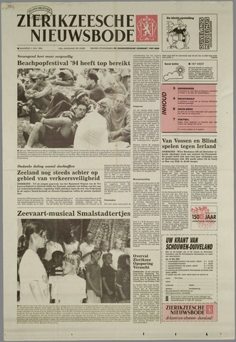 Zierikzeesche Nieuwsbode 1994-07-04