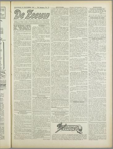 De Zeeuw. Christelijk-historisch nieuwsblad voor Zeeland 1943-12-27