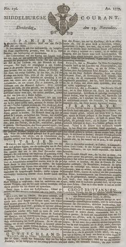 Middelburgsche Courant 1777-11-13