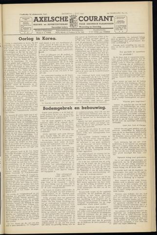 Axelsche Courant 1950-07-01