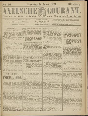 Axelsche Courant 1921-03-09