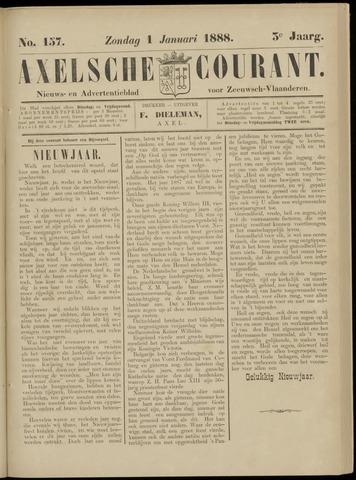 Axelsche Courant 1888