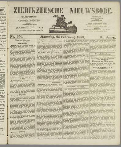 Zierikzeesche Nieuwsbode 1850-02-25