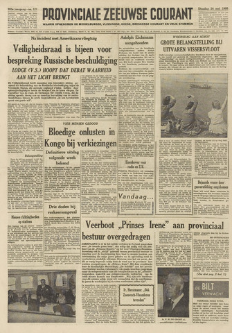 Provinciale Zeeuwse Courant 1960-05-24