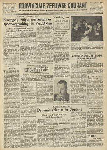 Provinciale Zeeuwse Courant 1951-02-06