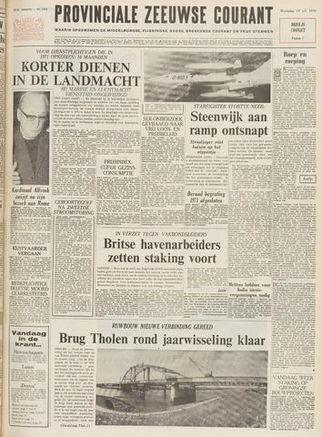 Provinciale Zeeuwse Courant 1970-07-15