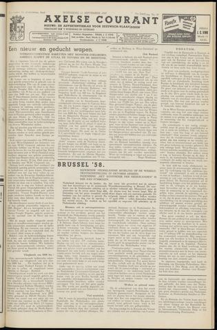 Axelsche Courant 1957-09-11
