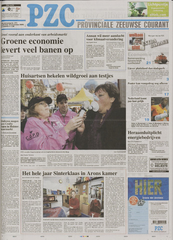 Provinciale Zeeuwse Courant 2006-11-16