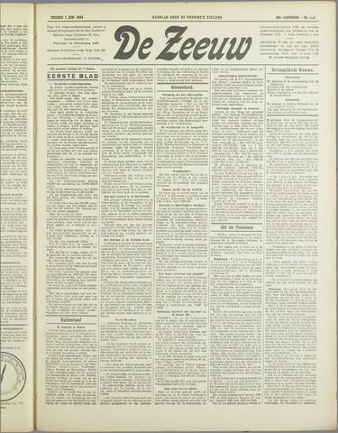 De Zeeuw. Christelijk-historisch nieuwsblad voor Zeeland 1934-06-01