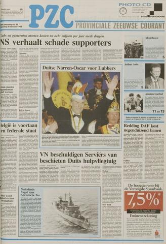 Provinciale Zeeuwse Courant 1993-02-08