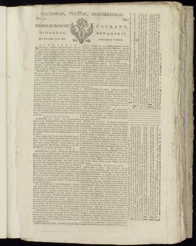 Middelburgsche Courant 1801-04-21