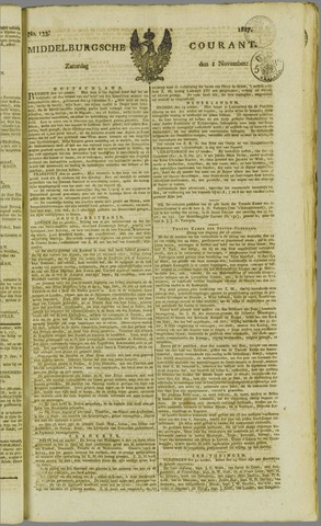 Middelburgsche Courant 1817-11-01