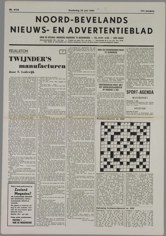 Noord-Bevelands Nieuws- en advertentieblad 1984-06-28