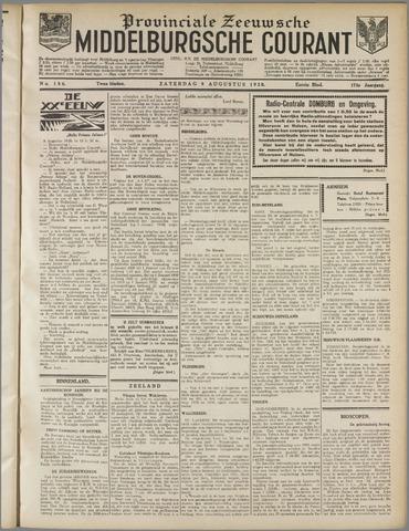Middelburgsche Courant 1930-08-09