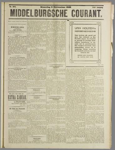 Middelburgsche Courant 1925-11-09