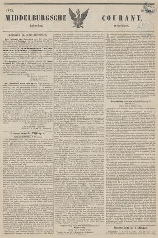 Middelburgsche Courant 1852-10-09