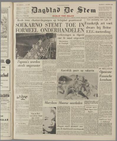 de Stem 1962-08-06