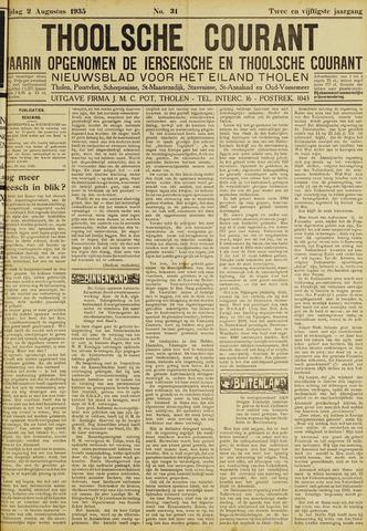 Ierseksche en Thoolsche Courant 1935-08-02