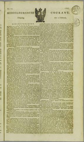 Middelburgsche Courant 1825-02-01