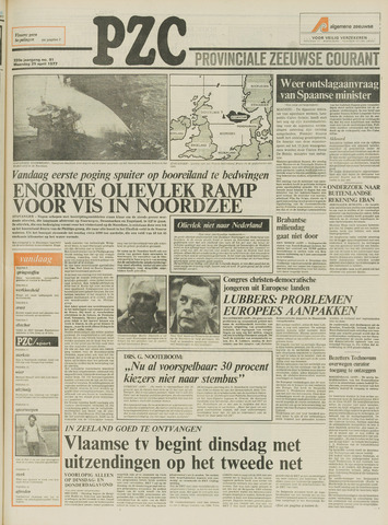 Provinciale Zeeuwse Courant 1977-04-25