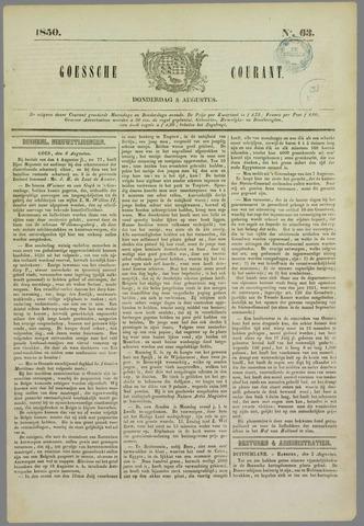 Goessche Courant 1850-08-08
