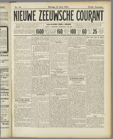 Nieuwe Zeeuwsche Courant 1914-06-16