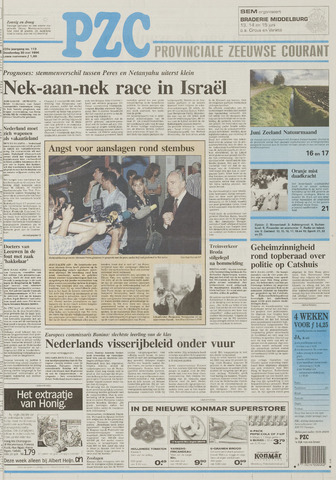 Provinciale Zeeuwse Courant 1996-05-30