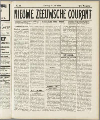 Nieuwe Zeeuwsche Courant 1909-07-17