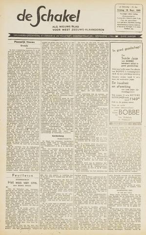 De Schakel 1961-09-15