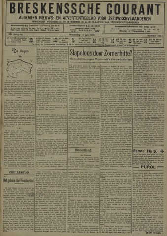 Breskensche Courant 1930-07-09