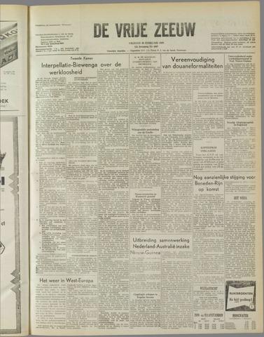 de Vrije Zeeuw 1958-02-28