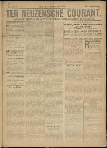 Ter Neuzensche Courant. Algemeen Nieuws- en Advertentieblad voor Zeeuwsch-Vlaanderen / Neuzensche Courant ... (idem) / (Algemeen) nieuws en advertentieblad voor Zeeuwsch-Vlaanderen 1921-12-30