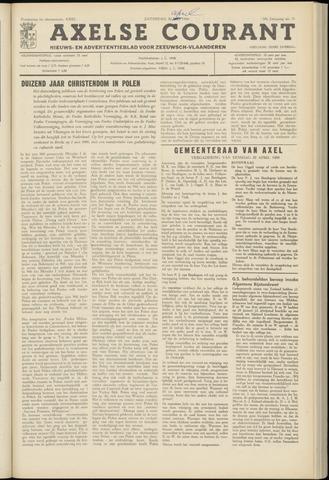Axelsche Courant 1966-04-30