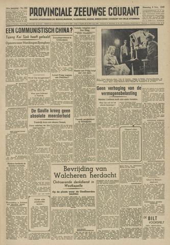 Provinciale Zeeuwse Courant 1948-11-08