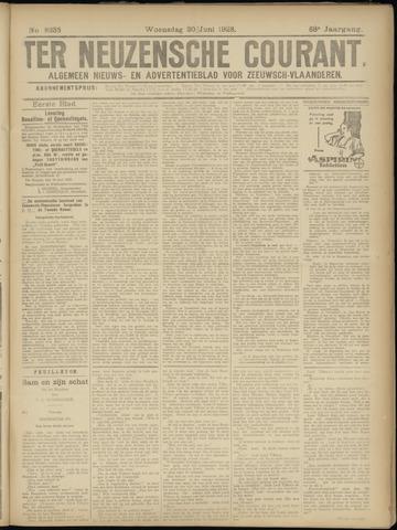 Ter Neuzensche Courant. Algemeen Nieuws- en Advertentieblad voor Zeeuwsch-Vlaanderen / Neuzensche Courant ... (idem) / (Algemeen) nieuws en advertentieblad voor Zeeuwsch-Vlaanderen 1928-06-20