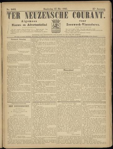 Ter Neuzensche Courant. Algemeen Nieuws- en Advertentieblad voor Zeeuwsch-Vlaanderen / Neuzensche Courant ... (idem) / (Algemeen) nieuws en advertentieblad voor Zeeuwsch-Vlaanderen 1897-05-27