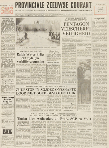 Provinciale Zeeuwse Courant 1971-07-03