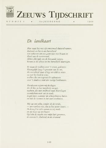Zeeuws Tijdschrift 1960-11-01