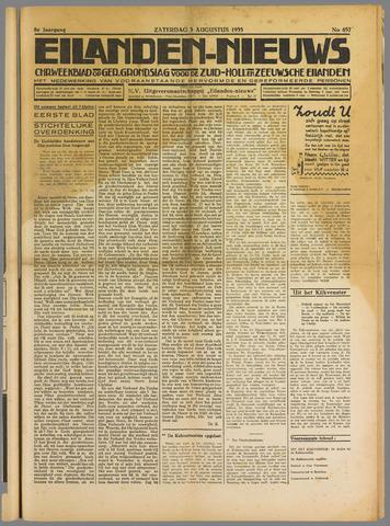 Eilanden-nieuws. Christelijk streekblad op gereformeerde grondslag 1935-08-03