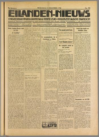 Eilanden-nieuws. Christelijk streekblad op gereformeerde grondslag 1936-12-09