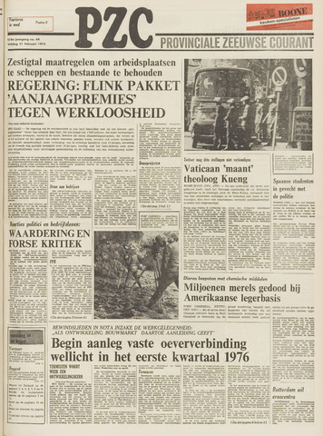 Provinciale Zeeuwse Courant 1975-02-21