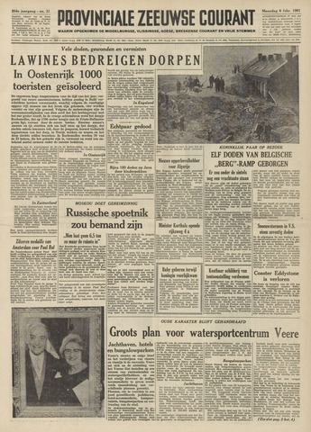 Provinciale Zeeuwse Courant 1961-02-06