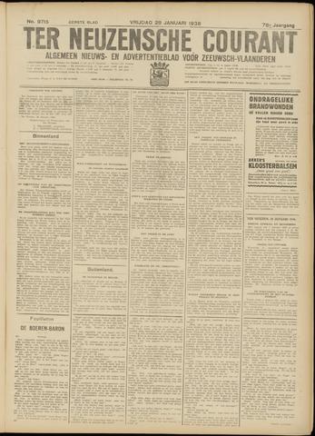 Ter Neuzensche Courant. Algemeen Nieuws- en Advertentieblad voor Zeeuwsch-Vlaanderen / Neuzensche Courant ... (idem) / (Algemeen) nieuws en advertentieblad voor Zeeuwsch-Vlaanderen 1938-01-28